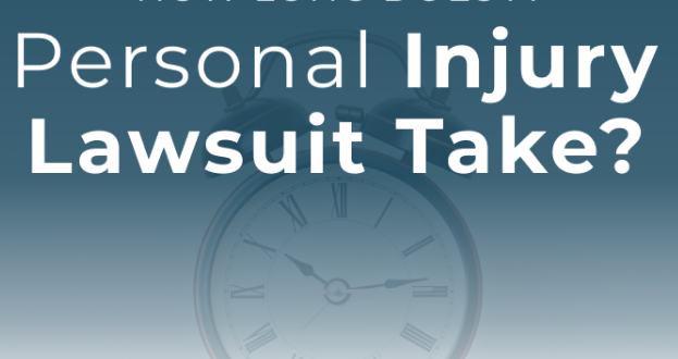 How Long Does the Average Personal Injury Lawsuit Take?